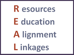 REAL: Resources Education Alignment Linkages