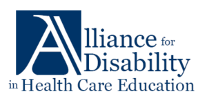 Logo- Alliance for Disability in Health Care Education